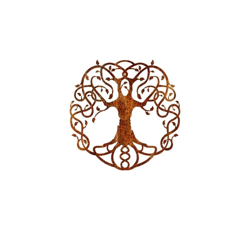 tree of life metal sign