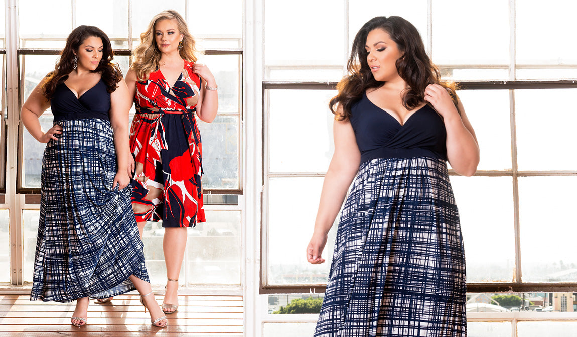 c00f6480f4 Plus Size Fashion Lookbook  It s A Spring Thing - 2017 - igigi.com Plus Size  Clothing