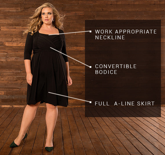 PLUS SIZE MADDY DRESS