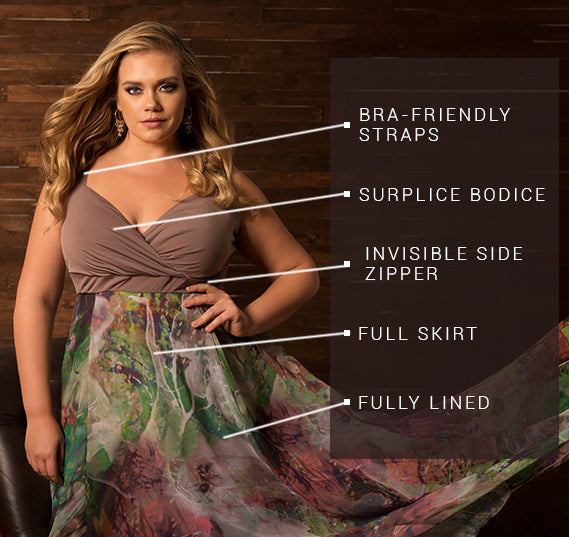 PLUS SIZE NAIME DRESS