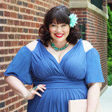 plus size fashion blogger Amber