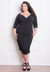 Ambrosia Dress Black 26/28 (Ready-To-Ship)