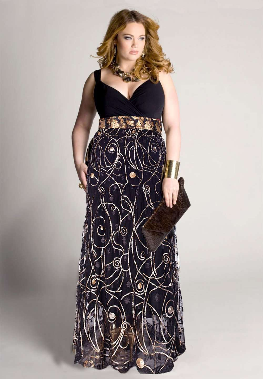 Alexandra Plus Size Dress (Made To Order)