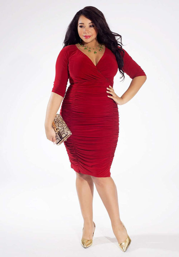 trendy and affordable designer plus size - ambrosia dress - igigi