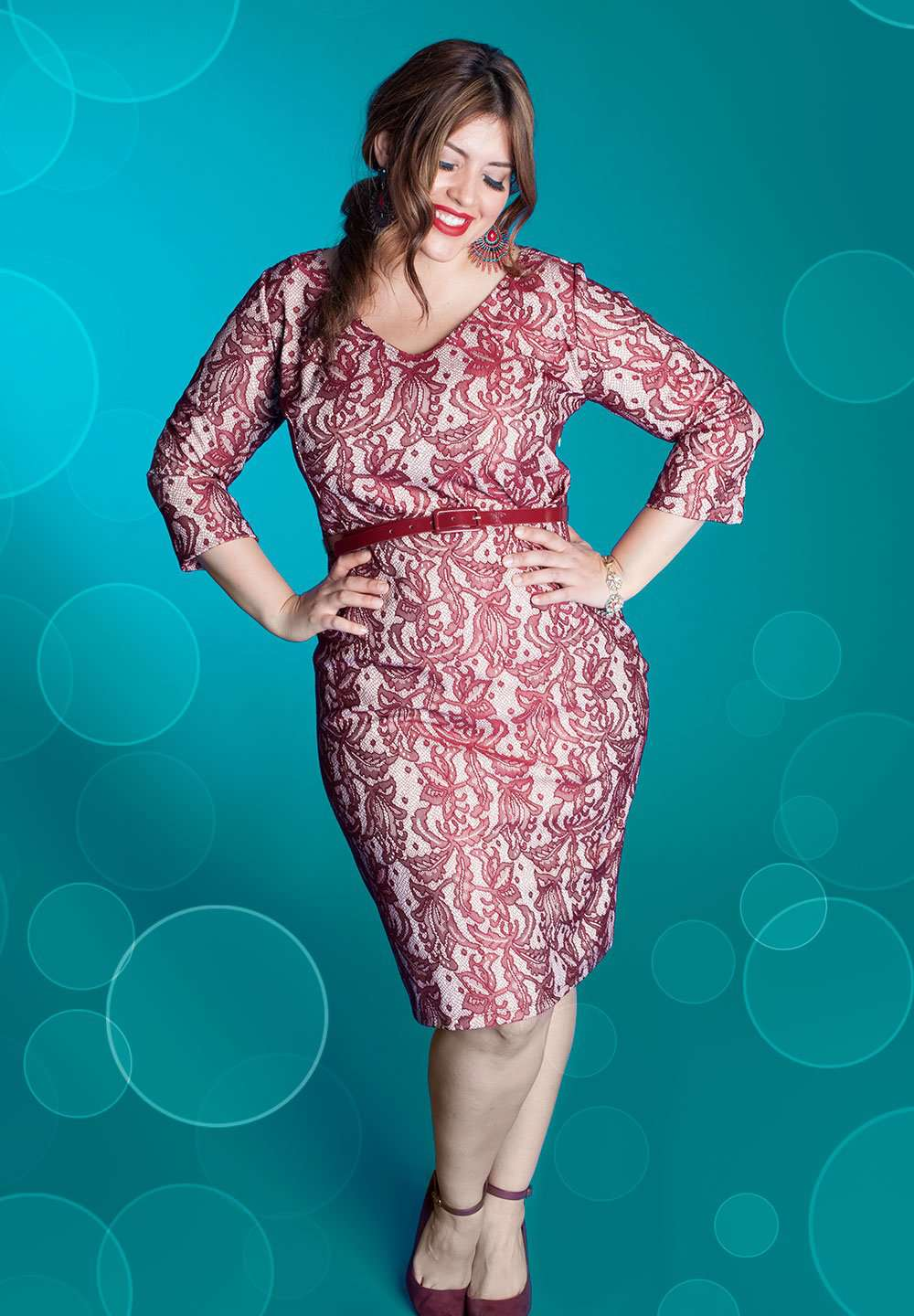 Women\'s Plus Size Dresses | Regina Dress (Made To Order) | IGIGI