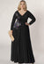 Kate Plus Size Dress in Black (Made-To-Order)