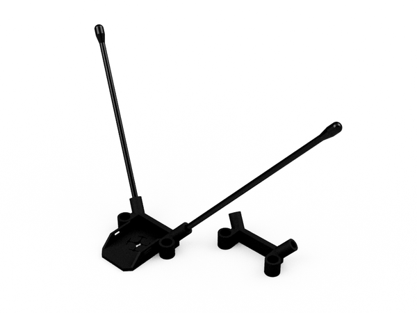 RX Antenna Mounts (For QAV-R, QAV210, QAV180) - CJ5FPV
