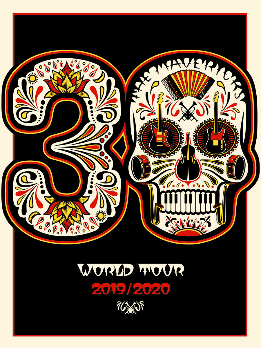 Autographed Special Edition 30th World Tour Poster