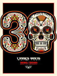 Special Edition 30th Anniversary Autographed World Tour Poster + Digital Standard Download