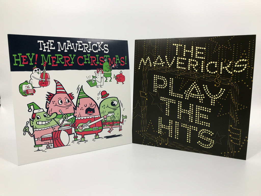 Autographed Christmas Hits LP Bundle