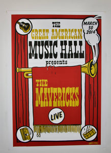 2014 Great American Music Hall Poster