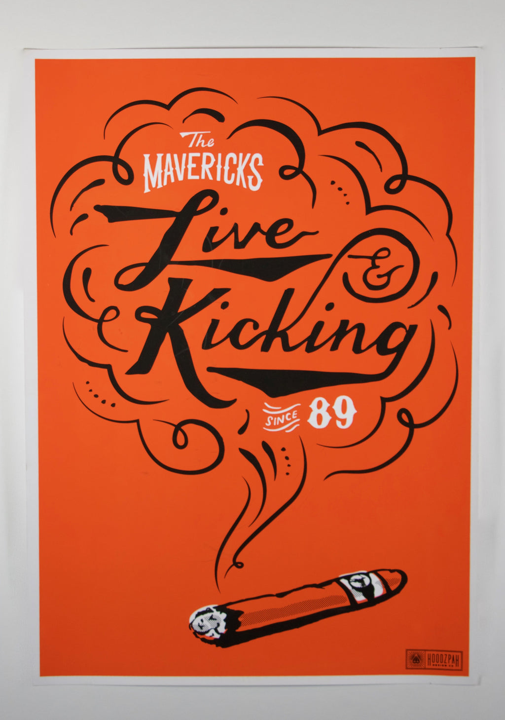 2012 Live & Kicking Since '89 Poster