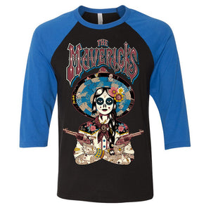 Mavericks 'En Español' 3/4 Sleeve Shirt