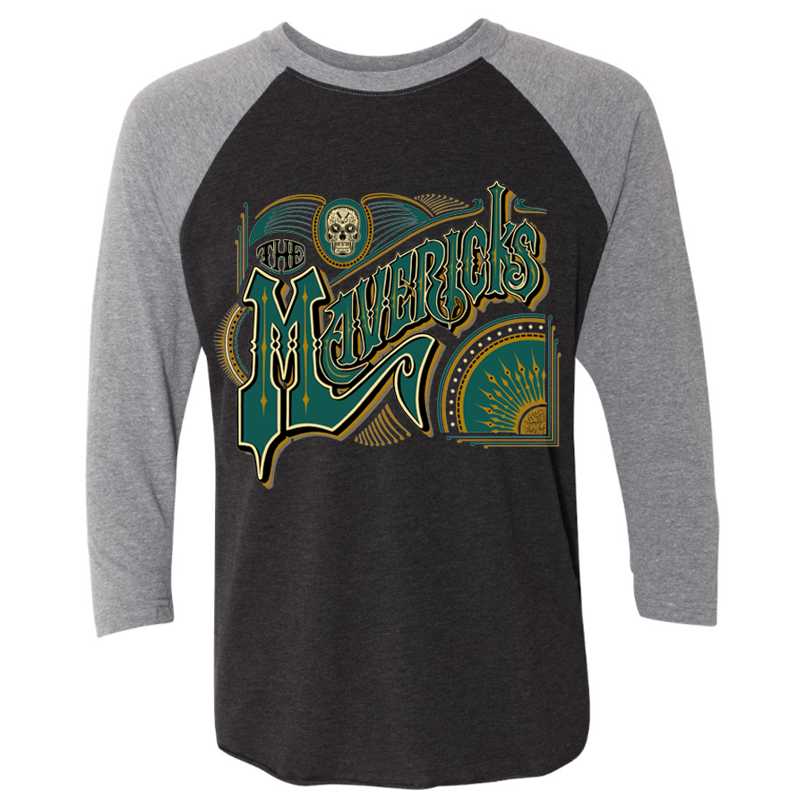 Spanish Mavericks 3/4 Sleeve Shirt + Digital Download