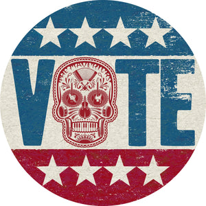 Mavericks 2020 'Voting Skull' Sticker (Pre-Order)