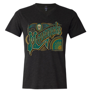 Spanish Mavericks V Neck T-Shirt + Digital Download