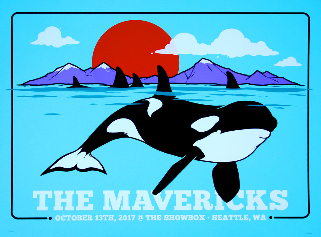 2017 Showbox Seattle Poster