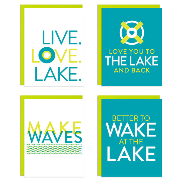 Lake Life Mixed Greeting Card Set