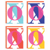 XO Mixed Greeting Card Set
