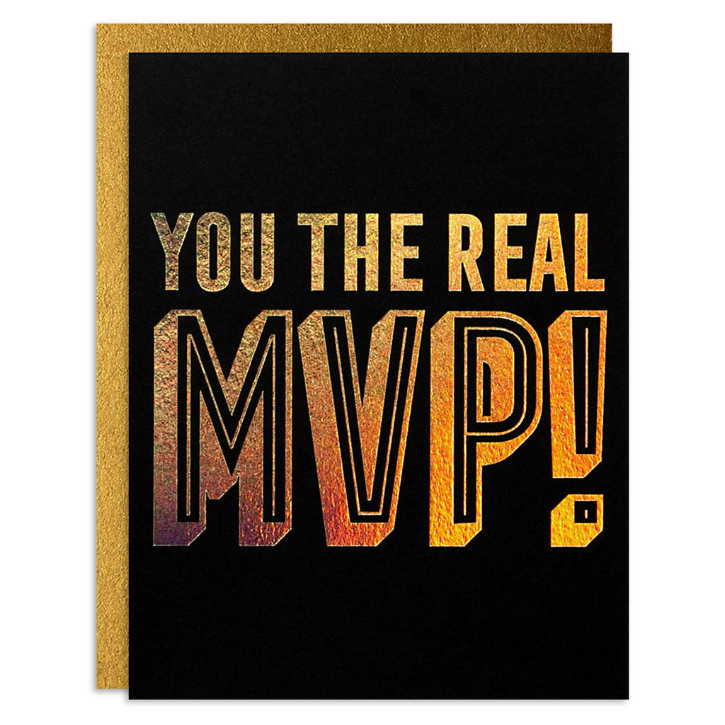 You the Real MVP!