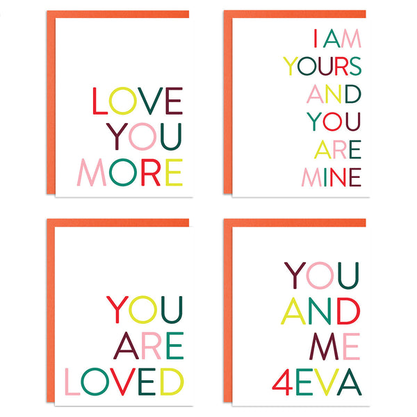 Love Mixed Greeting Card Set