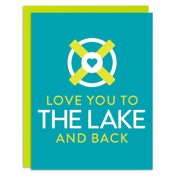 Love You to the Lake Greeting Card
