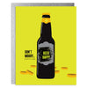 Don't Worry Beer Happy Scratch-Off Greeting Card