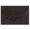 Scratch-Off United States Map