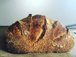 Corn-rosemary sourdough