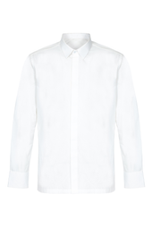 Long Sleeve Tailored Cotton Shirt