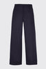 Side Pleated Wide Leg Trousers