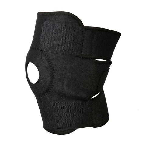 1pc Elastic Knee Support With Velcro Strap