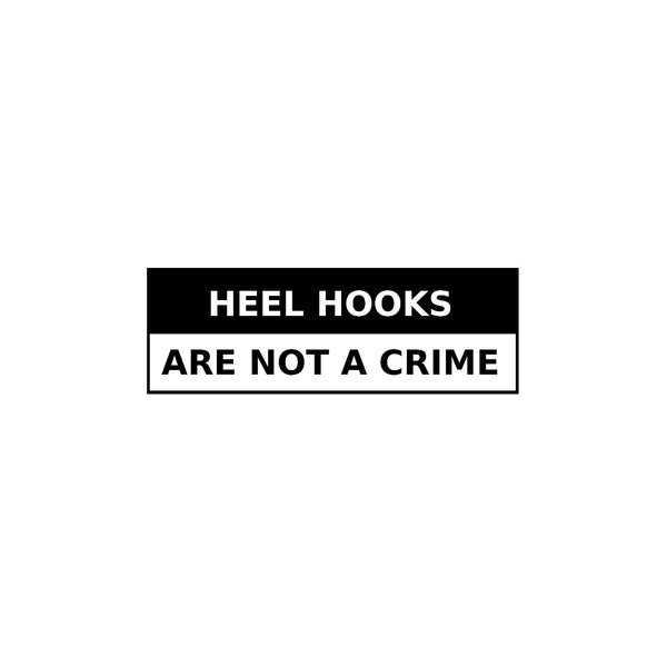 Heel Hooks are not a Crime Design Sample | Sleeve and Collar