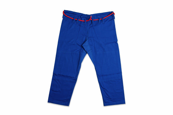 Sleeve and Collar | Blue Gi Pants