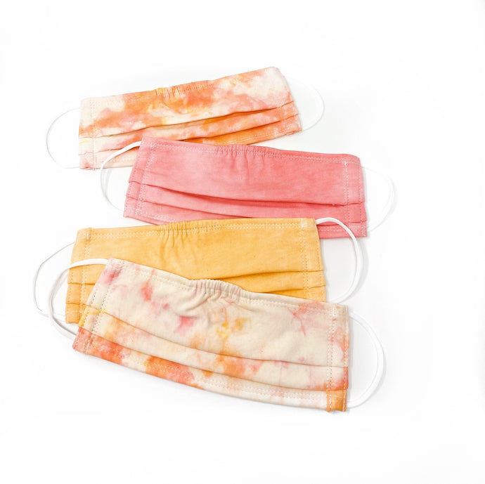 Sunset Tie Dye Face Mask Pack