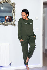 JYY Club Lounge Set - Khaki