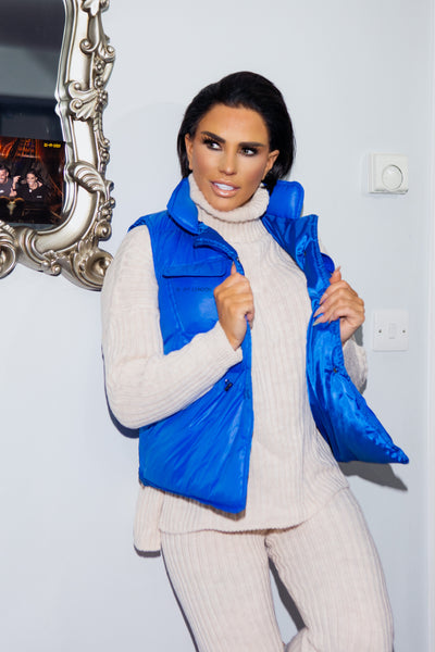 JYY Gilet - Royal Blue