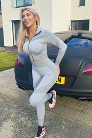 Sporty 3 Piece Set - Grey