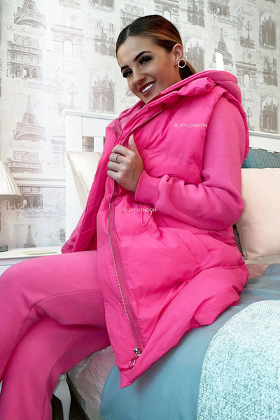 JYY Tracksuit & Padded Gilet - Fuschia