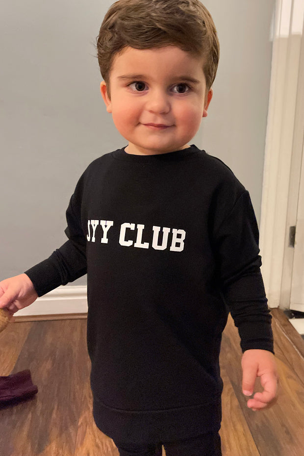 Kids JYY Club Lounge Set - Black