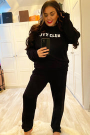 JYY Club Lounge Set - Black
