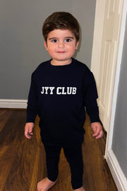 Kids JYY Club Lounge Set - Navy