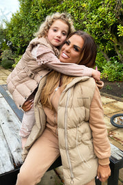 JYY Tracksuit & Padded Gilet - Beige PREORDER 2ND Dec