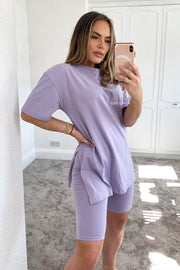 JYY Cycling Short Set - Lilac
