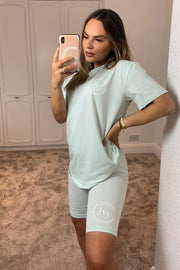 JYY Summer Club Short Set - Mint