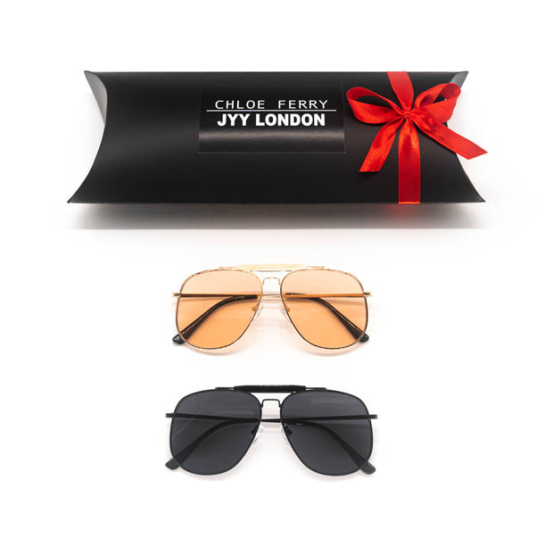 GIFT BOX - Sydney Nude & Sydney Black Sunglasses