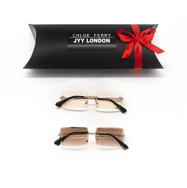 GIFT BOX - Sofia Clear & Sofia Brown Sunglasses