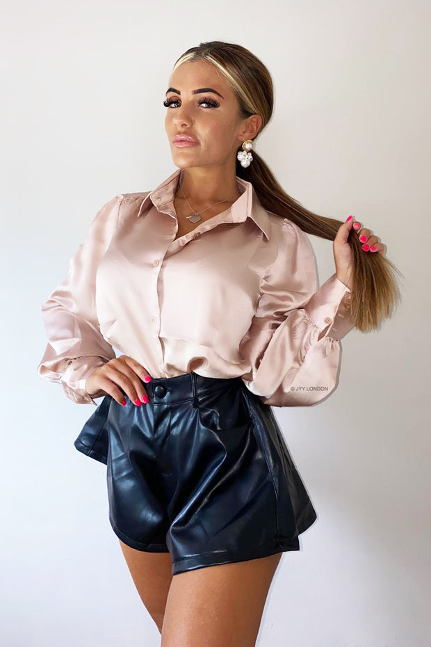 Shiny Shirt - Light Pink