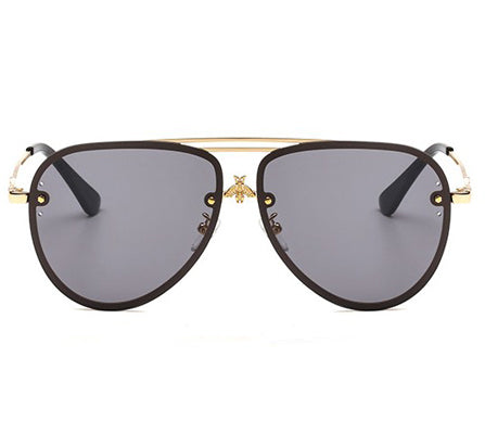 Harper Sunglasses - Clear Silver