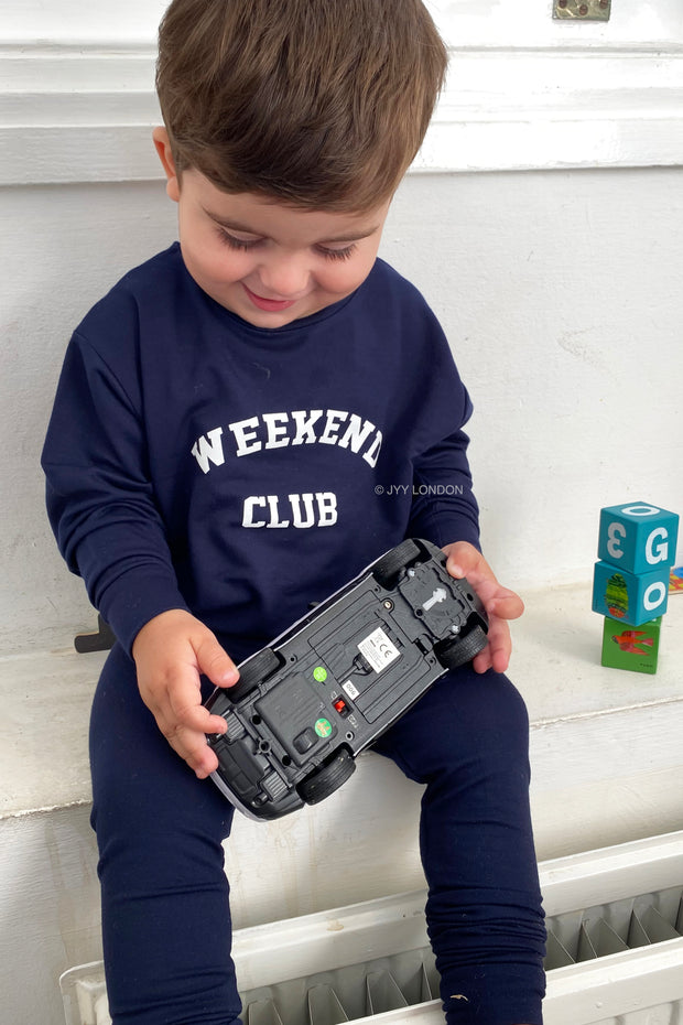 Kids Weekend Club Lounge Set - Navy